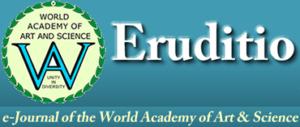Institutul de Studii Avansate pentru Cultura și Civilizația Levantului, Eruditio, e-Journal of the World Academy of Art & Science