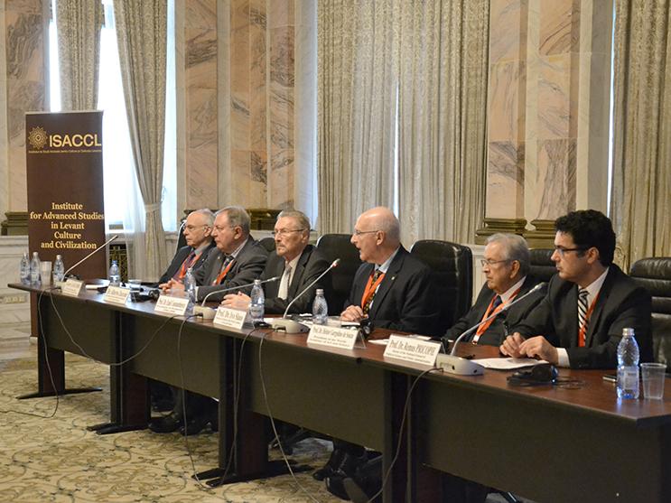 """Conferința """"Iniţiativa Levant pentru pace globală. Prin diplomaţie culturală spre o pace durabilă"""",20 – 21 noiembrie 2017"""