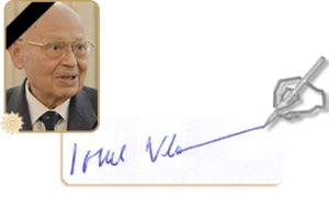 Academician Ionel Valentin Vlad Președintele Academiei Române Membru al World Academy of Art and Science
