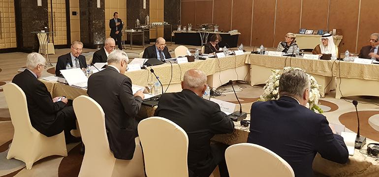 """Reuniunea anuală a """"Board of Trustee"""", Bibliotheca Alexandrina, Cairo, 16-20 aprilie 2018"""