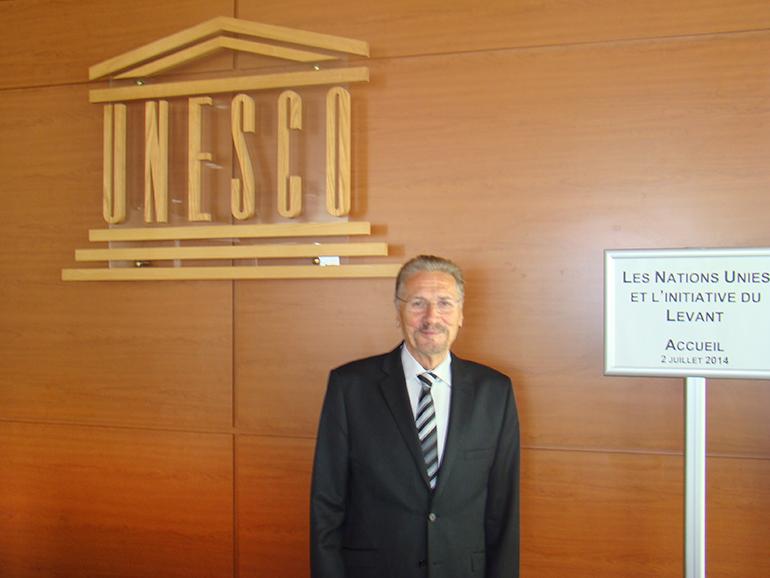Initiativa Levant pentru pace globală la UNESCO