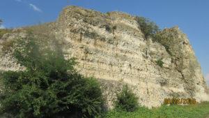 """""""Canaralele"""" (cariere de piatră) de la Hârșova"""
