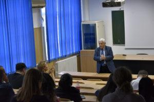 Dezbaterea împreună cu profesori, cercetători și studenți ai UOC a construcției unui geoparc UNESCO în Dobrogea