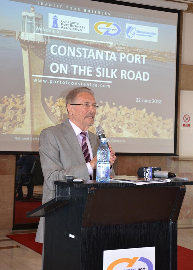 """""""Portul Constanța pe Drumul Mătăsii"""""""