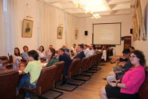 Deschiderea Școlii Anuale de Studii Bizantine, ediția 2018, organizată de Institutul de Studii Avansate pentru Cultura și Civilizația Levantului