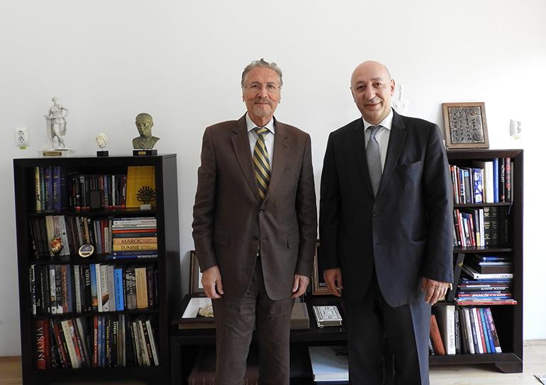 Ambasadorul Georgiei, în vizită la Institutul de Studii Avansate pentru Cultura și Civilizația Levantului