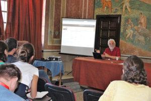"""Prelegere prof. univ. dr. Alexandros Alexakis (Universitatea din Ioanina, Grecia), """"Reprezentări în paleografia bizantină"""" (II)"""