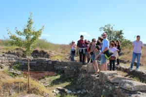 Vizitarea sitului arheologic de la Histria