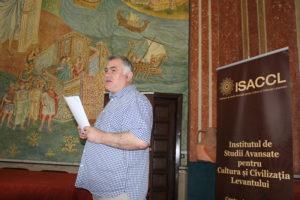 """Prelegere prof. univ. dr. Athanasios Semoglou (Universitatea Aristotel din Salonic, Grecia), """"Reprezentări ale orașului în arhitectura bizantină"""" (I)"""