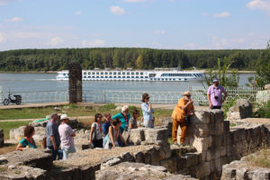 Vizită la situl arheologic din Durostorum (Bulgaria)