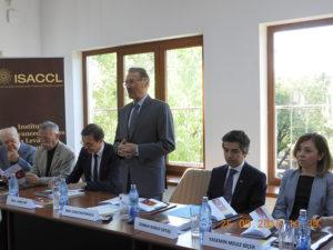 Cercetări privind relațiile dintre România și Turcia, la Institutul de Studii Avansate pentru Cultura și Civilizația Levantului (25 septembrie 2018)