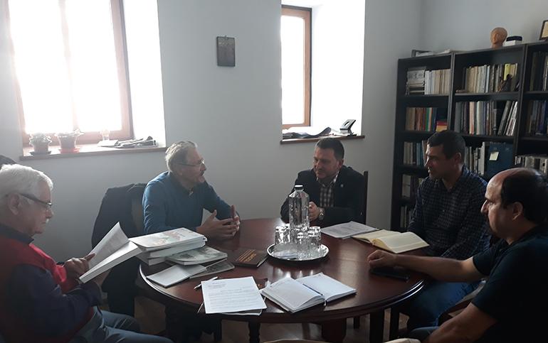 """Semnarea Acordului de parteneriat între Institutul de Studii Avansate pentru Cultura și Civilizația Levantului și Institutul de Cercetări Eco-Muzeale """"Gavrilă Simion"""" din Tulcea (26 septembrie 2018)"""