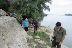 Ruinele cetății dacice de lângă Ostrov