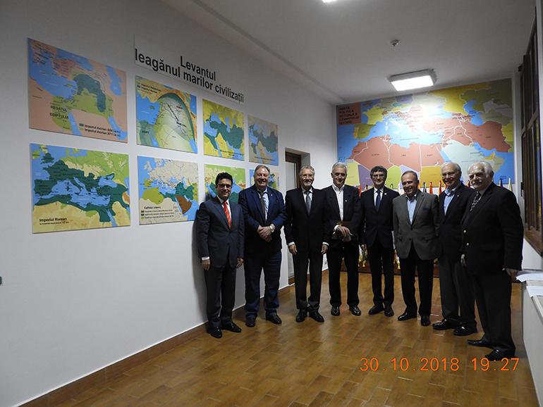Ședința Consiliului Științific al Institutului de Studii Avansate pentru Cultura și Civilizația Levantului