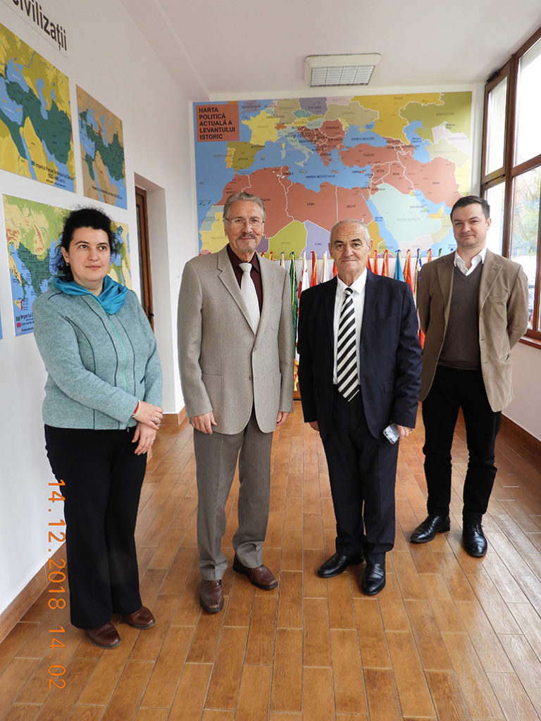 Academician Kopi Kyçyku, invited to take part in the projects of the Institute for Advanced Studies in Levant Culture and Civilization