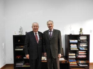 Președintele Marmara Group Foundation, la Institutul de Studii Avansate pentru Cultura și Civilizația Levantului: Akkan Şuver a fost primit de Emil Constantinescu