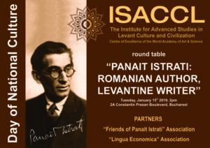 """PANAIT ISTRATI: ROMANIAN AUTHOR, LEVANTINE WRITER"""