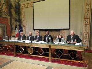 Inițiativa Levant pentru pace Globală în Senatul italian