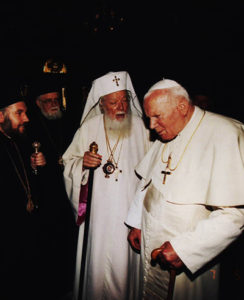 Papa Ioan Paul al II-lea în România. Dialogul catolic-ortodox la nouă secole de la Marea Schismă