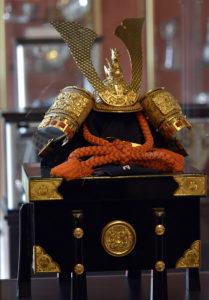Coif nipon primit de la Împăratul Akihito al Japoniei