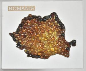 Harta României din chihlimbar, Azerbaidjan
