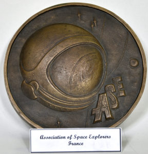 Medalie din bronz, Asociația Exploratorilor Spațiali din Franța