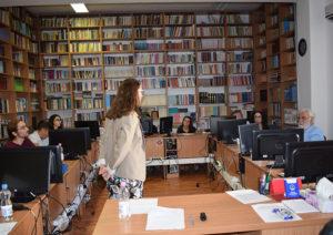 Zacharoula Kousouli a prezentat tema John VIII Palaiologos – a Prosopography