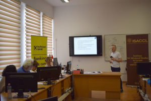 Ștefan-Ioan Cianga a prezentat tema doctorală intitulată The Danubian Limes in Scythia Minor According to Procopian Testimonia and Excavated Source