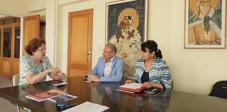 Posibile direcții de cooperare cu Institutul de Studii Balcanice din Salonic