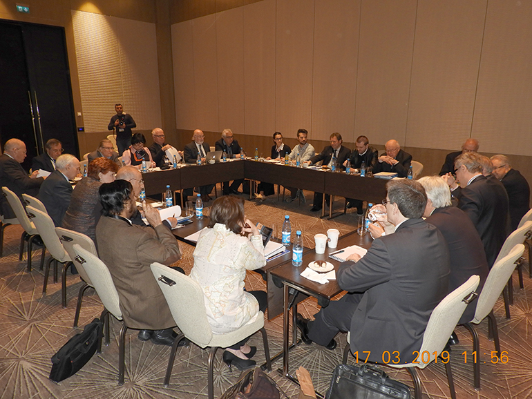 Roundtable discussion on Global leadership in the 21st century, in Baku