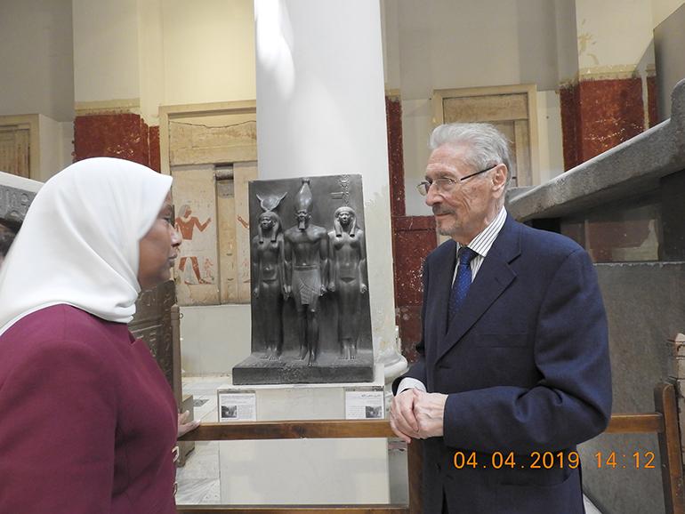 Proiecte și inițiative comune cu Muzeul de Egiptologie din Cairo