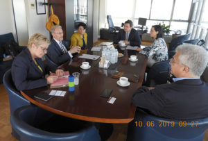 Președintele Emil Constantinescu a avut o întrevedere cu rectorul Universității Aristotel din Salonic, prof. univ. dr. Perikles A. Mitkas