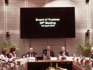 Emil Constantinescu participă la Reuniunea Board of Trustees a Bibliotecii din Alexandria Bibliotheca Alexandrina, Cairo/Alexandria, Egipt