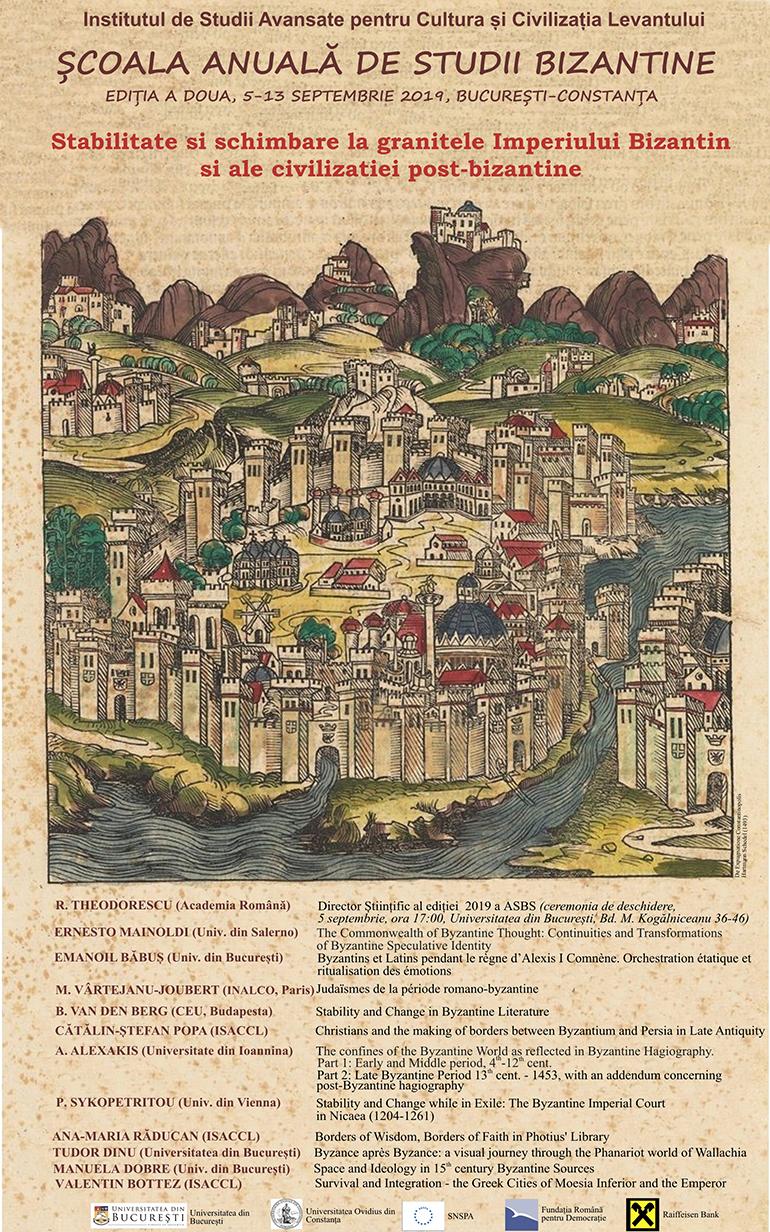 Stabilitate și schimbare la granițele Imperiului Bizantin și ale civilizației post-bizantine