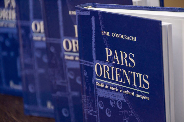 "Book release. Emil Condurachi:  ""Pars Orientis – Studies on the History of European Culture"""