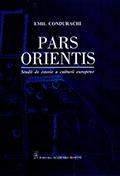 """Lansare de carte """"Pars Orientis. Studii de istorie a culturii europene"""""""