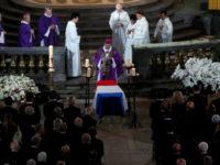 La ceremonia funerară au participat peste 30 de șefi de stat și de guvern din toată lumea