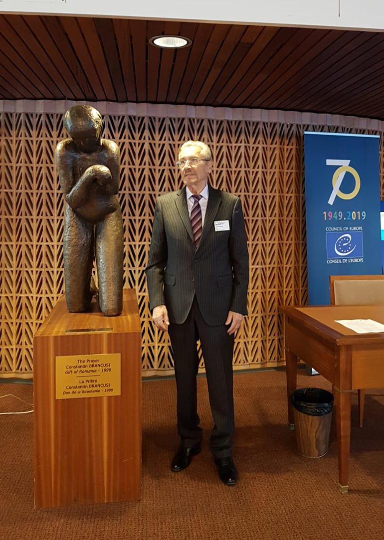 InițiativaLevantpentru Pace Globală, promovată de Emil Constantinescu în Consiliul Europei