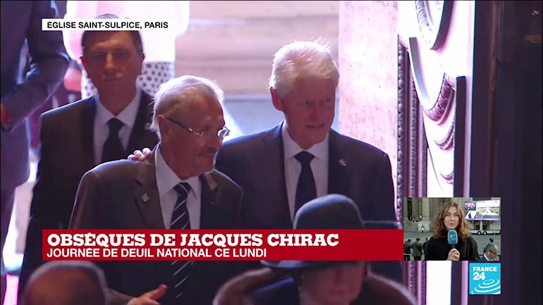 Funeraliile unui mare prieten al României, președintele francez Jacques Chirac