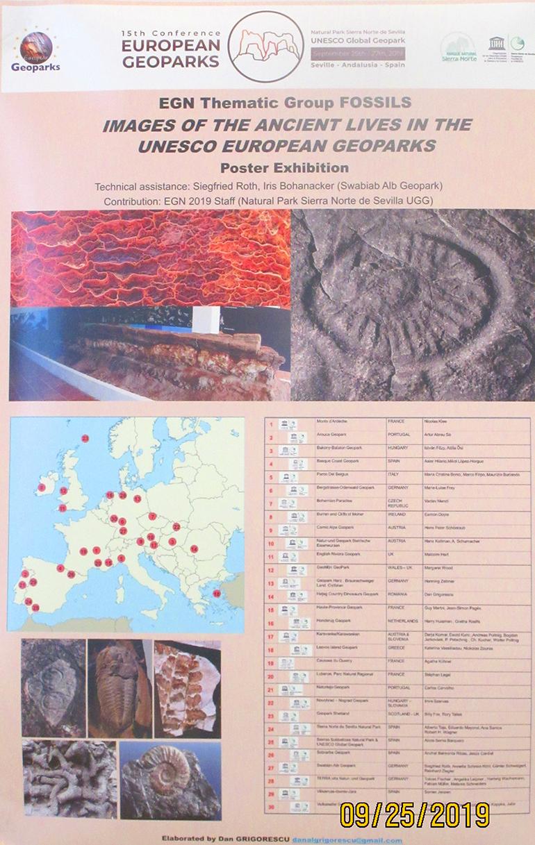 """Conferință UNESCO a Geoparcurilor din lume, desfășurată sub deviza: """"Geoparcurile: Memoria Pământului-Viitorul Oamenilor"""""""