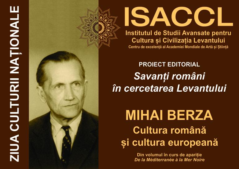 """Mihai Berza: """"De la Méditerranée à la Mer Noire"""""""