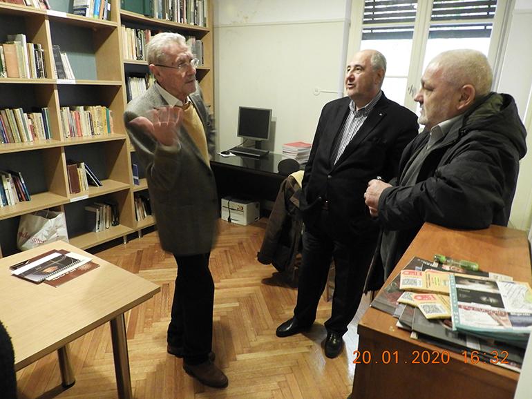 Proiect destinat studierii istoriei culturale a Balcanilor, în parteneriat cu Institutul Arheologic Român din Atena