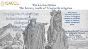 The figure of Abraham in the interreligious dialogue - from the local perspective of the Holy Land