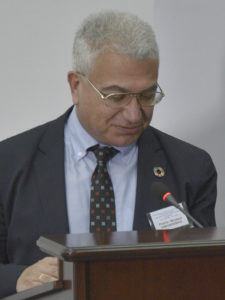 Nikolaos Theodossiou, președintele Rețelei de Soluții pentru Dezvoltare Durabilă la Marea Neagră
