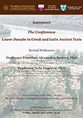 The Conference Lower Danube in Greek and Latin Ancient Texts