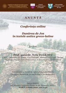E-conferință susținută de prof. univ. dr. Nelu Zgravu