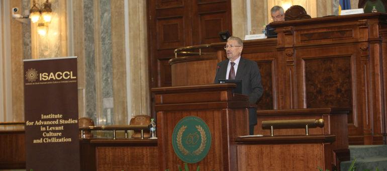 04 The Institute for Advanced Studies in Levant Culture and Civilization, President Emil Constantinescu