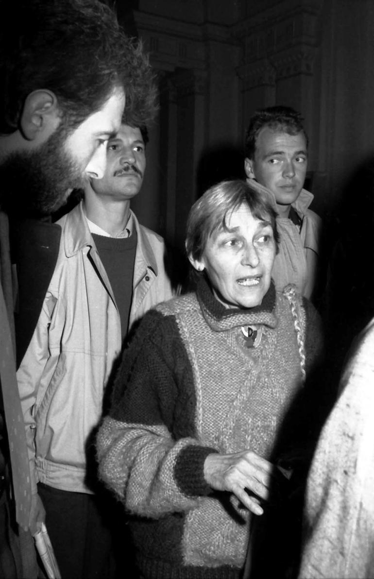 """Doina Cornea: """"Să rămânem uniți, iar armele noastre să rămână mereu nonviolente"""""""