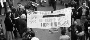 LEVANTUL - ISTORIA RECENTĂ • Opoziția față de regimurile dictatoriale, de la revoluțiile anticomuniste din Estul Europei la Primăvara Arabă • Rezistență. Disidență. Protest în stradă