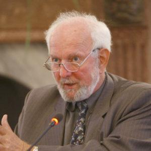 Ernst von Weizsacker (vice-președinte al Clubului de la Roma în perioada 2012-2018)